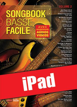 Songbook Basse Facile - Volume 2 (iPad)