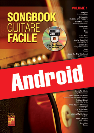 Songbook Guitare Facile - Volume 1 (Android)