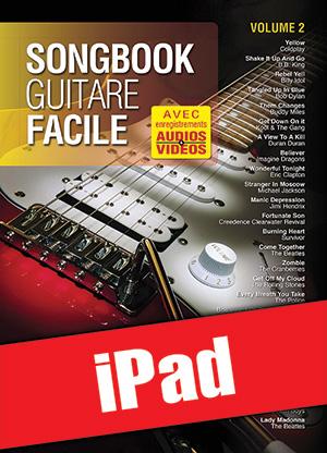 Songbook Guitare Facile - Volume 2 (iPad)