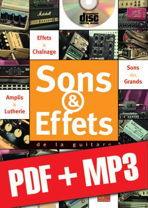 Sons & effets de la guitare (pdf + mp3)