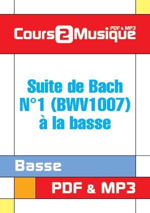 Suite de Bach N°1 (BWV1007) à la basse