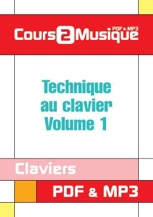 Technique au clavier - Volume 1
