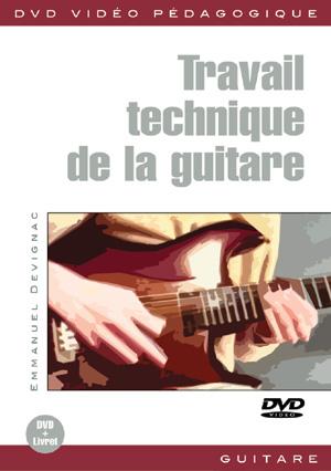 Travail technique de la guitare