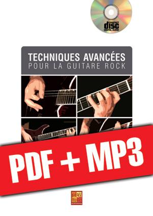 Techniques avancées pour la guitare rock (pdf + mp3)