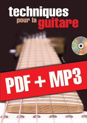 Techniques pour la guitare (pdf + mp3)