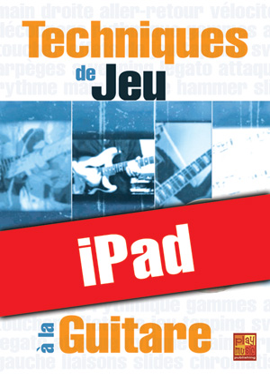 Techniques de jeu à la guitare (iPad)
