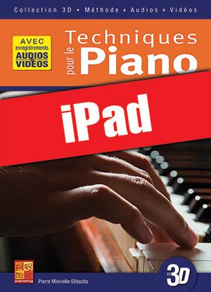 Techniques pour le piano en 3D (iPad)