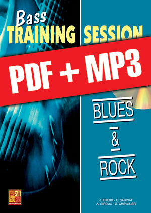 Bass Training Session - Blues & rock (pdf + mp3)