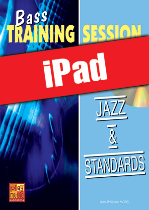 Bass Training Session - Jazz & standards (iPad)