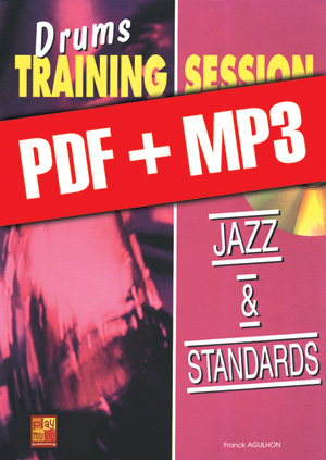 Drums Training Session - Jazz & standards (pdf + mp3)