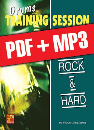 Drums Training Session - Rock & hard (pdf + mp3)