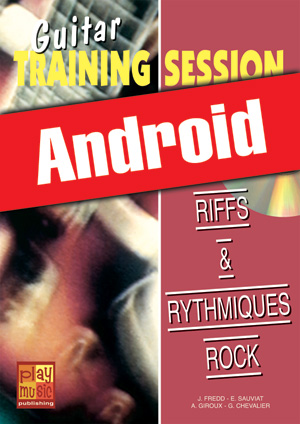 Guitar Training Session - Riffs & rythmiques rock (Android)