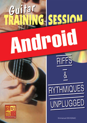 Guitar Training Session - Riffs & rythmiques unplugged (Android)