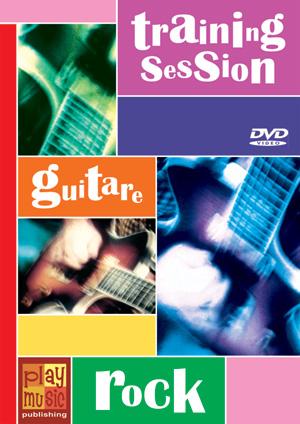 DVD Training Session - Guitare rock