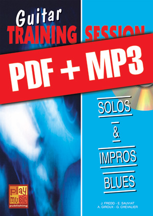 Guitar Training Session - Solos & impros blues (pdf + mp3)