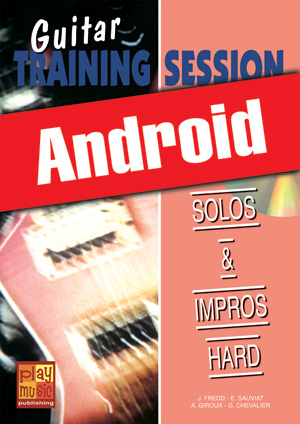 Guitar Training Session - Solos & impros hard (Android)