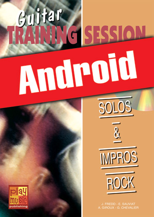 Guitar Training Session - Solos & impros rock (Android)