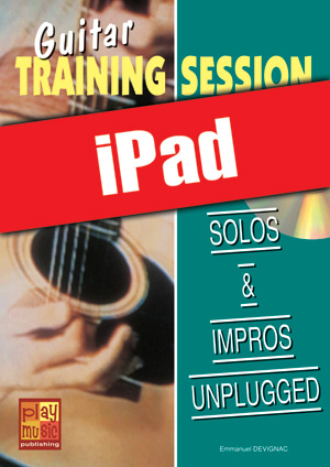 Guitar Training Session - Solos & impros unplugged (iPad)
