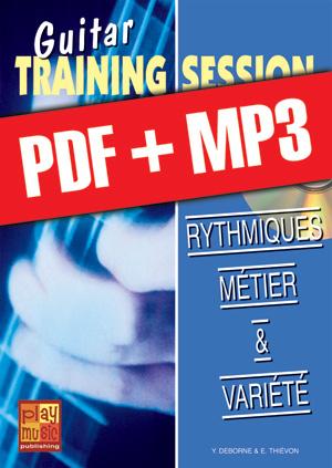 Guitar Training Session - Rythmiques métier & variété (pdf + mp3)