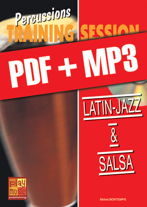 Percussions Training Session - Latin-jazz & salsa (pdf + mp3)