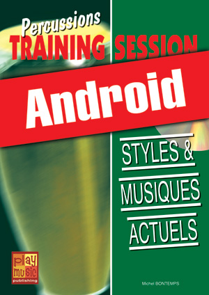 Percussions Training Session - Styles & musiques actuels (Android)