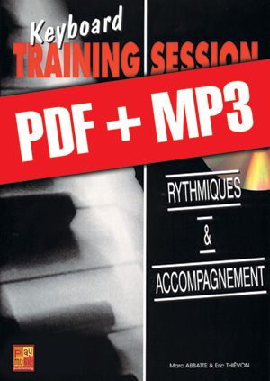 Keyboard Training Session - Rythmiques & accompagnement (pdf + mp3)