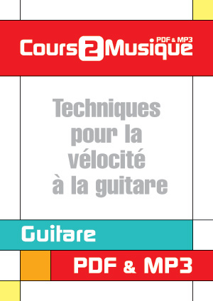 Techniques pour la vélocité à la guitare