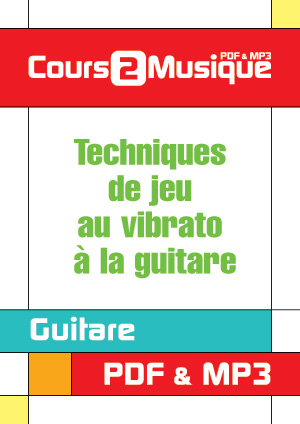 Techniques de jeu au vibrato à la guitare
