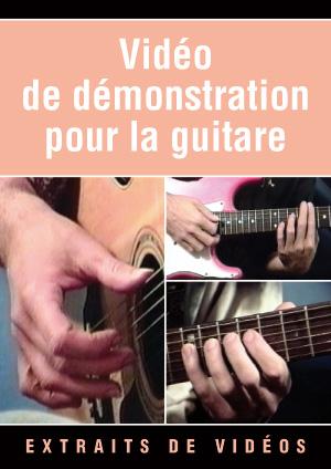Vidéo de démonstration pour la guitare