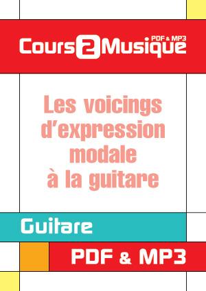 Les voicings d'expression modale à la guitare