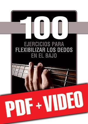 100 ejercicios para flexibilizar los dedos en el bajo (pdf + vídeos)