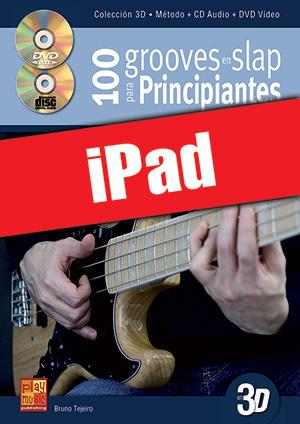100 grooves en slap para principiantes en 3D (iPad)