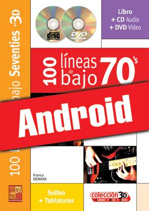 100 líneas de bajo 70's en 3D (Android)