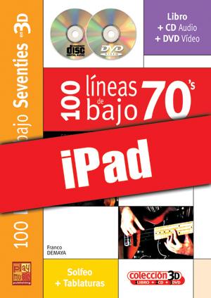 100 líneas de bajo 70's en 3D (iPad)