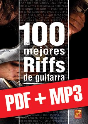Los 100 mejores riffs de guitarra (pdf + mp3)
