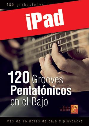 120 Grooves pentatónicos en el bajo (iPad)