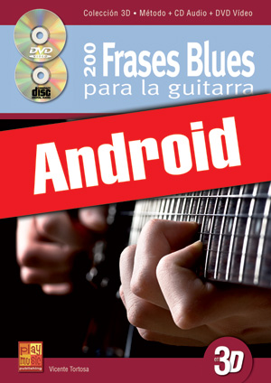 200 frases blues para la guitarra en 3D (Android)