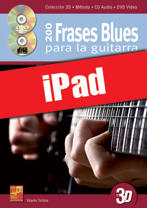 200 frases blues para la guitarra en 3D (iPad)