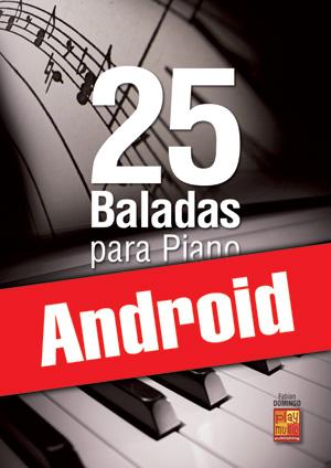 25 baladas para piano (Android)