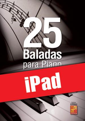 25 baladas para piano (iPad)