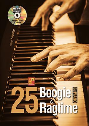 25 boogie & ragtime en el piano