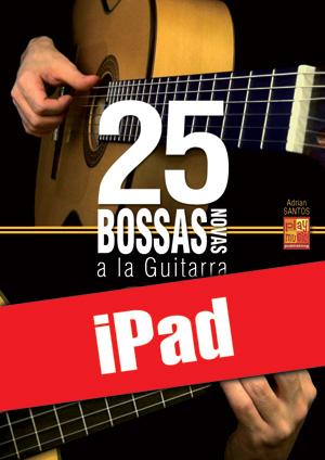 25 bossas novas a la guitarra (iPad)