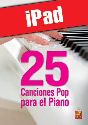 25 canciones pop para el piano (iPad)