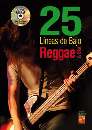 25 líneas de bajo Reggae & Ska