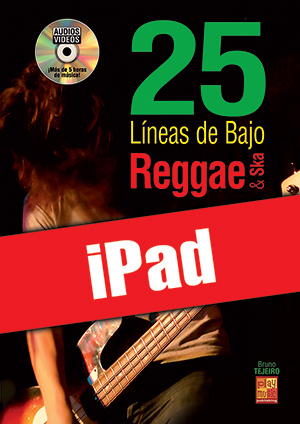 25 líneas de bajo Reggae & Ska (iPad)