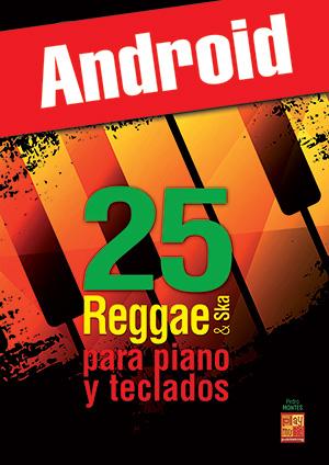 25 Reggae & Ska para piano y teclados (Android)