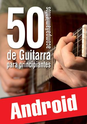 50 acompañamientos de guitarra para principiantes (Android)
