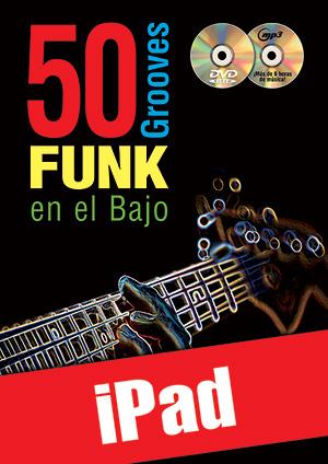 50 grooves funk en el bajo (iPad)