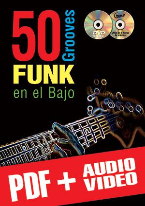 50 grooves funk en el bajo (pdf + mp3 + vídeos)