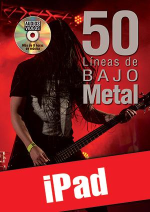 50 líneas de bajo metal (iPad)